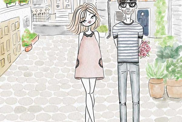 boy-girl-woman-man-illustration-bunch-flower-love