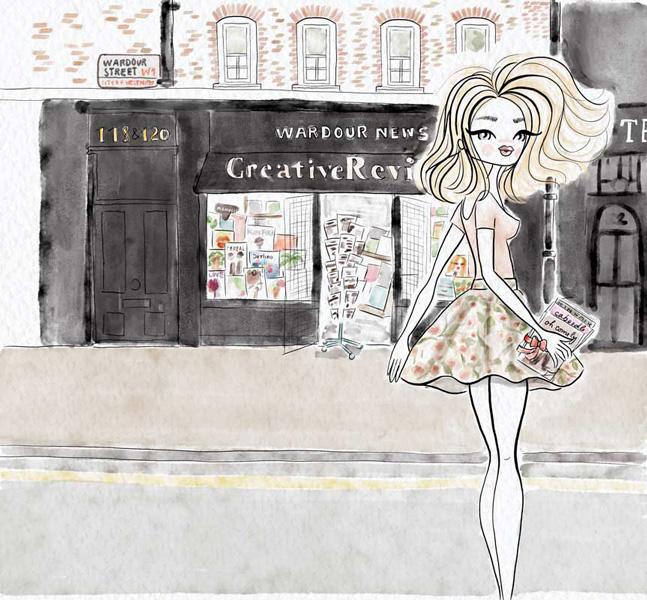 fashion-illustration-woman-floral-skirt
