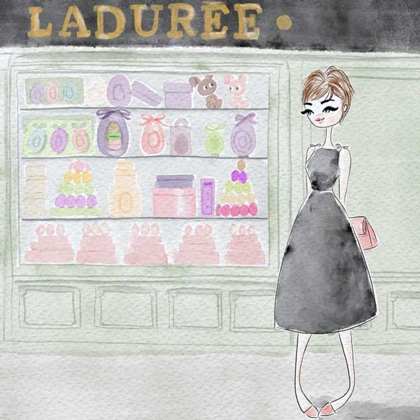 laduree-window-shop-Paris-Parisian-woman