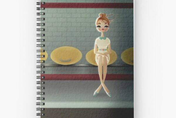 spiral-notebook-illustrated-cover-chic-parisian-woman-at-the-metro-illustration-stationery-paula-romanispiral-notebook.jpg