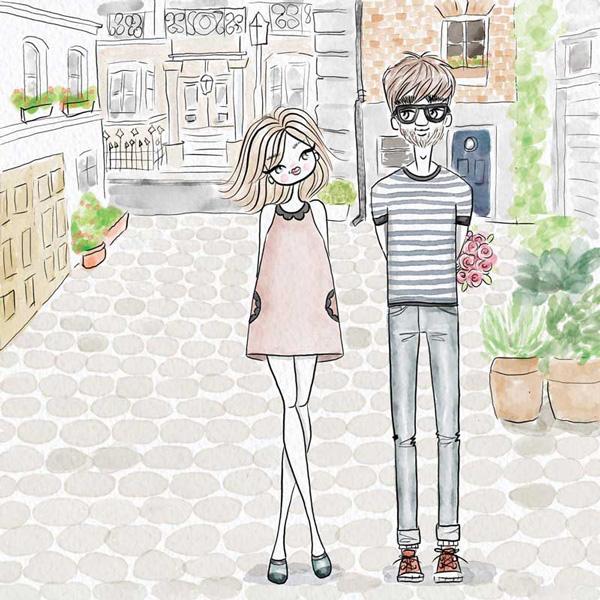boy-girl-woman-man-illustration-bunch-flower-love
