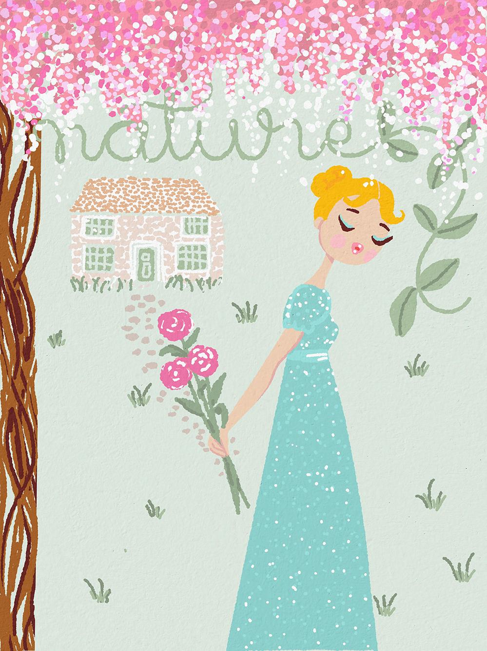 cover-book-design-art-bridgerton-romantic-novel-livre couverture-art-illustration-freelance-illustrateur